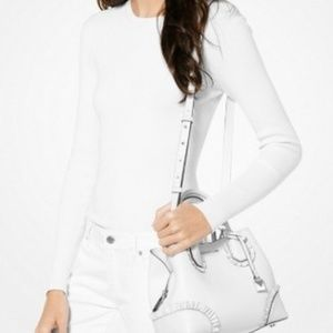 Michael Kors Bags - Michael Kors MERCER Gallery Small Ruffled Satchel